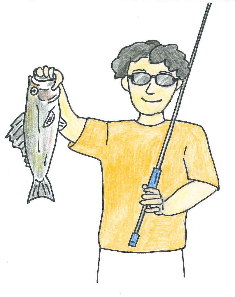 釣りにサングラスはしていますか?