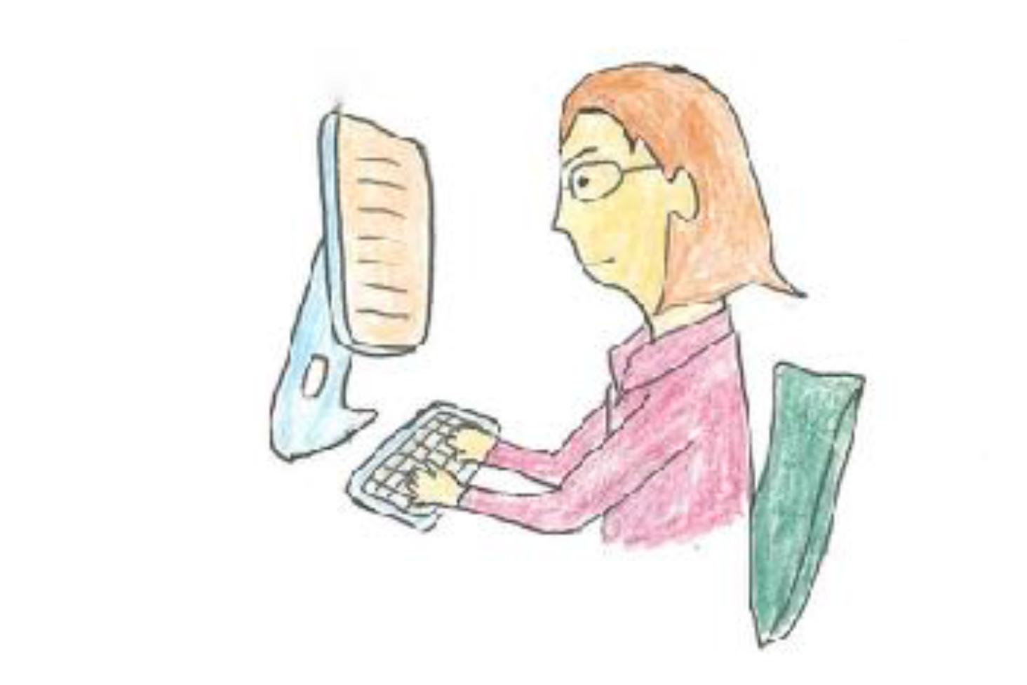 印刷物だけでなくパソコンが日常になり、今までより色々な距離の 近く(デスクトップ、ノートPC,タブレット)を長い時間見るようになってゆきました。