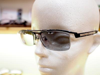 TALEX レンズ使用 クリップサングラス