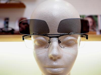 TALEXレンズ使用 クリップオンサングラス