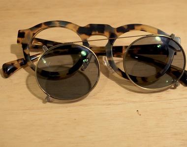 手作りクリップサングラス