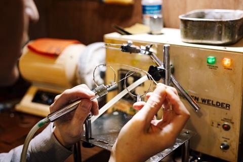 手作りクリップオンサングラスサムネイル