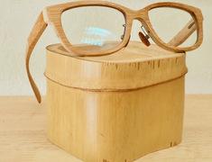 竹のメガネを仕上げました。サムネイル